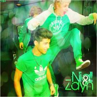 Niall and Zayn / Majus by Domokunasturias