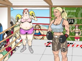 Losing weight - Fight boxing by fab1rr
