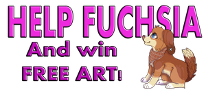 I NEED YOUR HELP! (WIN FREE ART!!!) by Fuchsianess