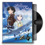 The princess and the pilot (2011) Folder Icon by Maxi94-Cba