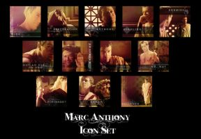 Marc Anthony Icon Set by Firlachiel