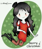 Marceline-christmas by ItaDreams