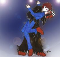 The kiss swap dance by SweetxAriannaxEngel