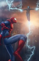 Amazing Spiderman by Kyle-Fast