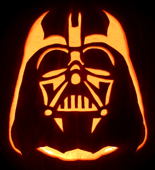 Star Wars: Darth Vader Pumpkin by johwee