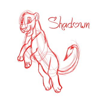 Prize contest-Sketch Shadown by CommyPink