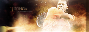 Sign Jo-Wilfried Tsonga by ROH2X