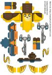 Ratchet Cubeecraft by scarykurt