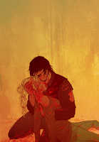 Bethyl - Red by foxyx