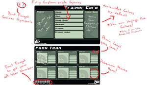 Pokemon Trainer Card Template by CatEnergy
