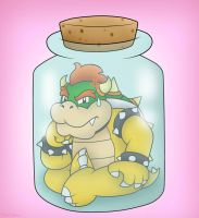 Bottled Bowser!! :D by SuperLakitu