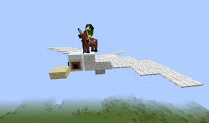 this is what i'm like in Minecraft by 8bloodpetals