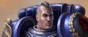 Space Marine by NickHerbert