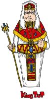 King Tut by Lordwormm