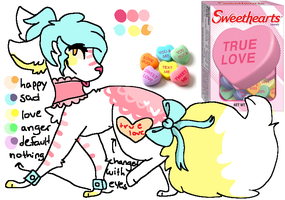 Sweethearts Candy Auction (closed) by powiibo