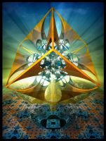 the Divine Sailor (imploding to infinitesimality) by MANDELWERK