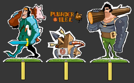 Game characters by Pino44io