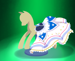 lineless saddle :D by CeleryPony
