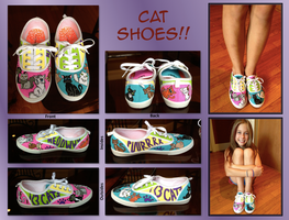 I Love Cat Shoes! by savanahbanana