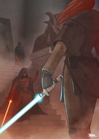 The jedi shall fall! by Blazbaros
