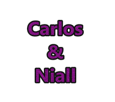 Texto Png Carlos y Niall by LuzcaEditions