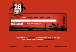 28 Days Later Startpage by AwesomeStart