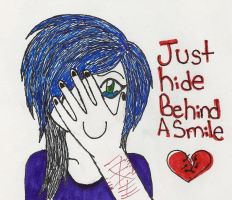 Just hide behind a smile by Sally-Faqbs