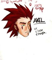 Axel color by TheMuffalow