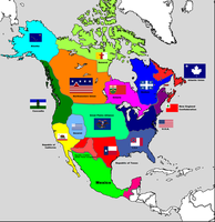 Balkanized North America by GenericMechPilot