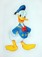 Donald Duck by ConnyDuck