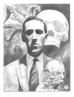 HP Lovecraft by jfife