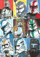 Topps Star Wars G7 - 15 Troops by JoeHoganArt