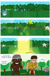 Duff McJohnson - #1 Word of Pokemon Pg 1 by SquigglyGoldenSpirit