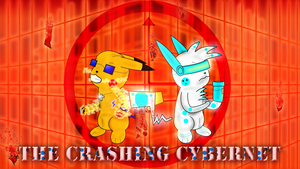 The Crashing Cybernet Cover by DevenDesign