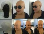 Bald cap and application by RHatake