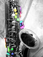 A Splash of Saxophone by kay-ler