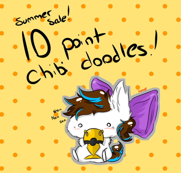 VERY CHEAP SUMMER POINT COMMISIONS by Myumimon