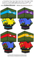 Cubeecraft - Star Trek- TMNT by CyberDrone
