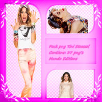 Pack png Tini Stoessel by MundoEditions