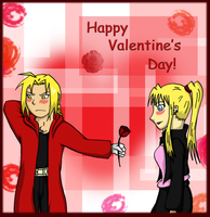 FMA - Valentine's Day by ColosseumHeroine