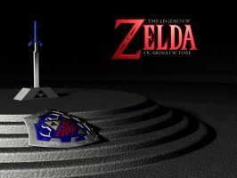 Ocarina of Time wallpaper by Dionicio