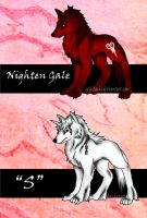 Nighten Gale and S by evilitachi