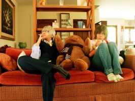 Junjou Romantica: Lounge. by solatomato