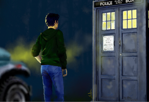 TARDIS for Stiles by JoelsVoice