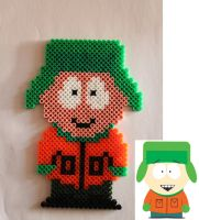 South Park beads - Kyle Broflovski by Xeina-rose-of-death