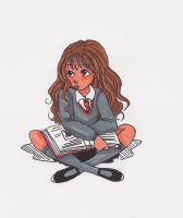 Hermione by ThEsIlKe