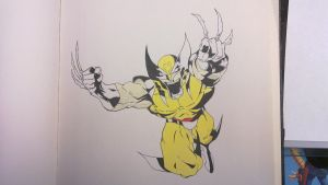 Wolverine more color by Slayersrx7