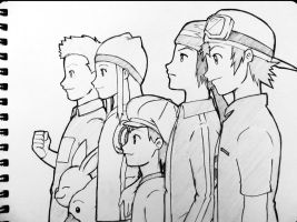 Digimon Frontier by medatelle