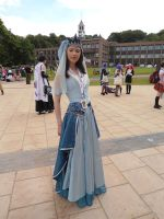 Articuno gijinka Amecon 2012 by Lady-Avalon
