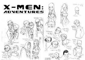 X-men: Adventures by JsmNox